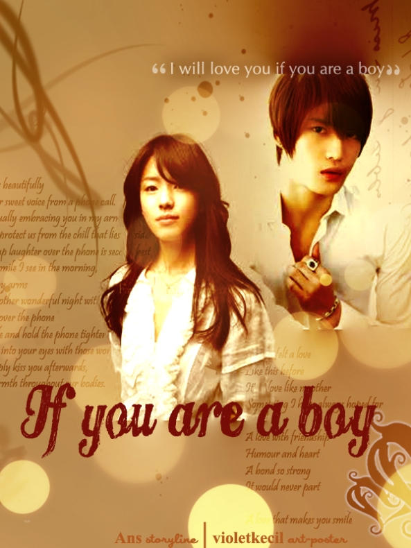 if u are a boy Poster